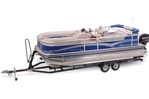 2013 SUN TRACKER PARTY BARGE 220 XP3