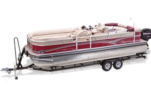 2013 SUN TRACKER PARTY BARGE 250 XP3
