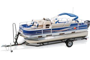 2013 SUN TRACKER FISHIN' BARGE 20 DLX
