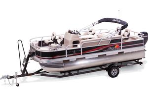 2013 SUN TRACKER FISHIN' BARGE 22 DLX