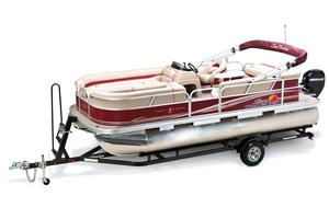 2013 SUN TRACKER PARTY BARGE 22 DLX