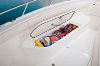 Port & starboard bow storage