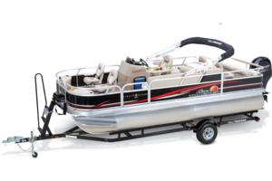 2014 SUN TRACKER FISHIN' BARGE 22 DLX
