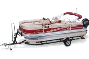 2014 SUN TRACKER PARTY BARGE 22 XP3