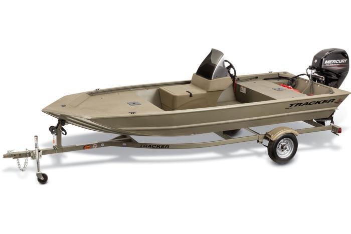 Tracker Boats All Welded Jon Boats 2015 Grizzly 1648