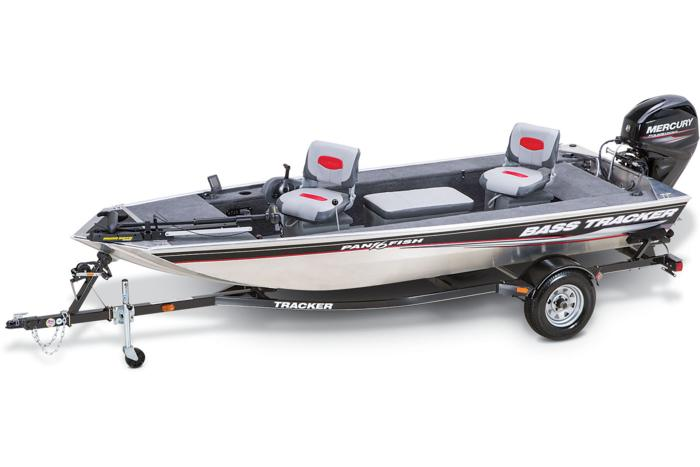 2015 TRACKER Panfish 16 boat, motor and trailer