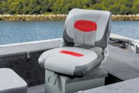 Folding boat fishing seat