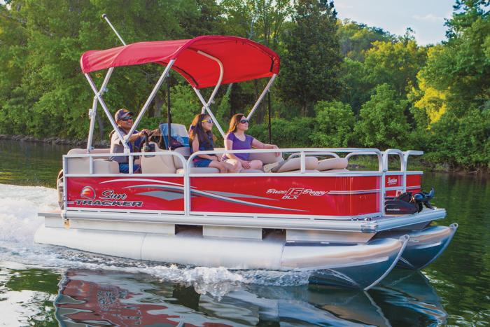 Boat shopping tools for Tracker fishing boats