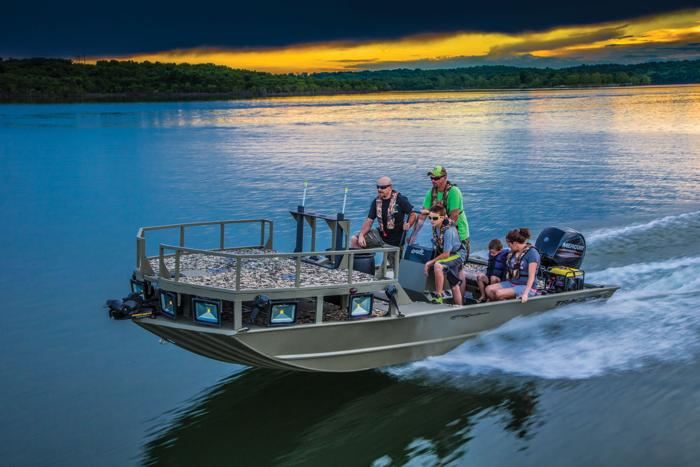 TRACKER Boats : All-Welded Jon Boats : 2016 GRIZZLY 2072 ...