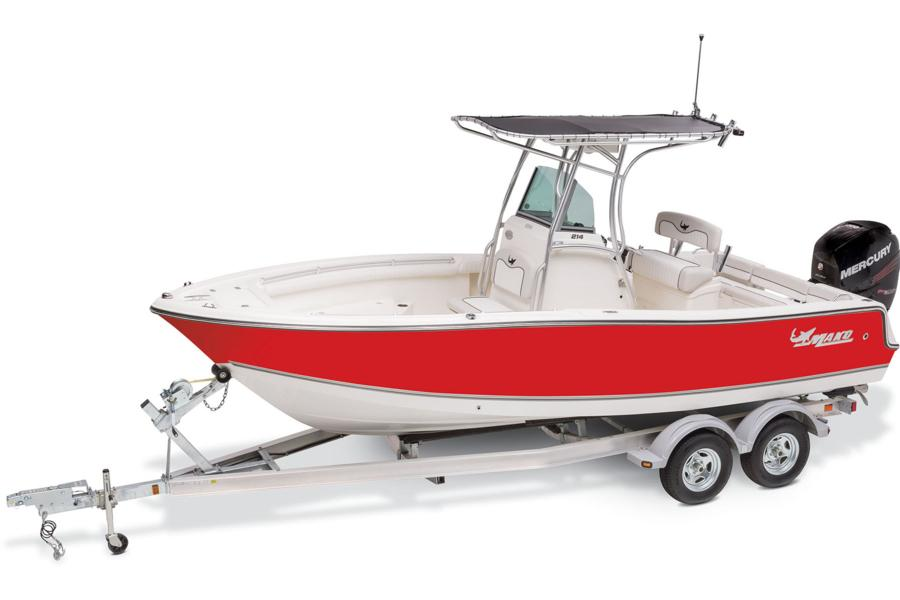 Mako boats offshore boats 2017 214 cc photo gallery for Ma fishing license cost