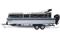 Optional tandem-axle trailer w/NEW GALVASHIELD® Impact corrosion protection for improved durability
