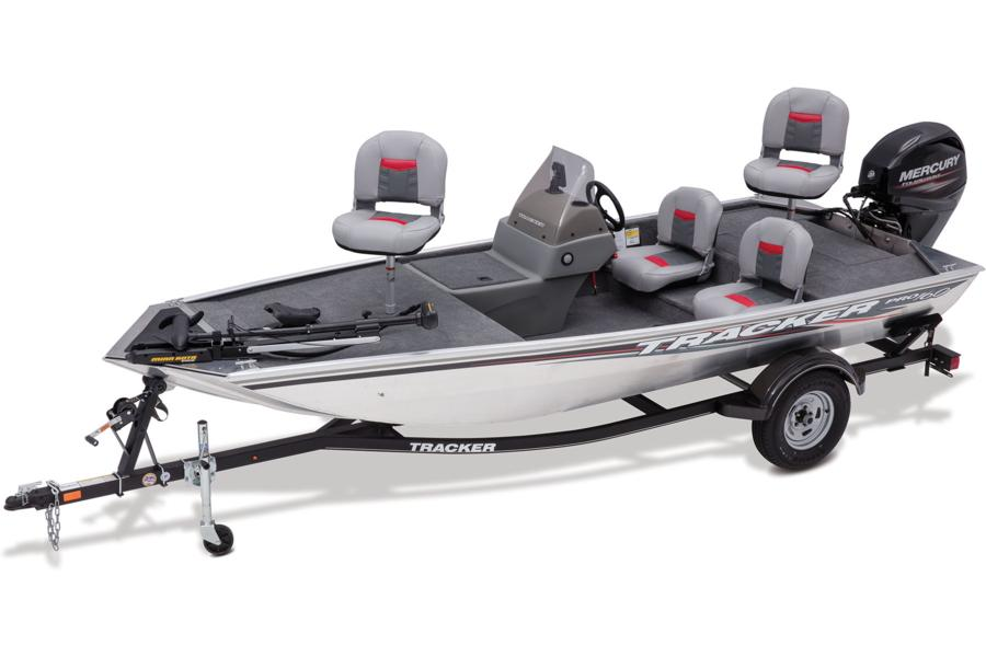 Tracker boats bass panfish boats 2017 pro 160 photo for Bass pro fishing boats