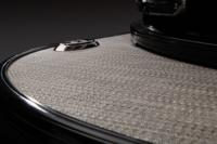 Luxurious cool-touch, padded woven flooring & 4 pop-up mooring cleats