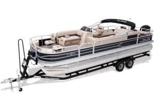 2017 SUN TRACKER FISHIN' BARGE 24 DLX