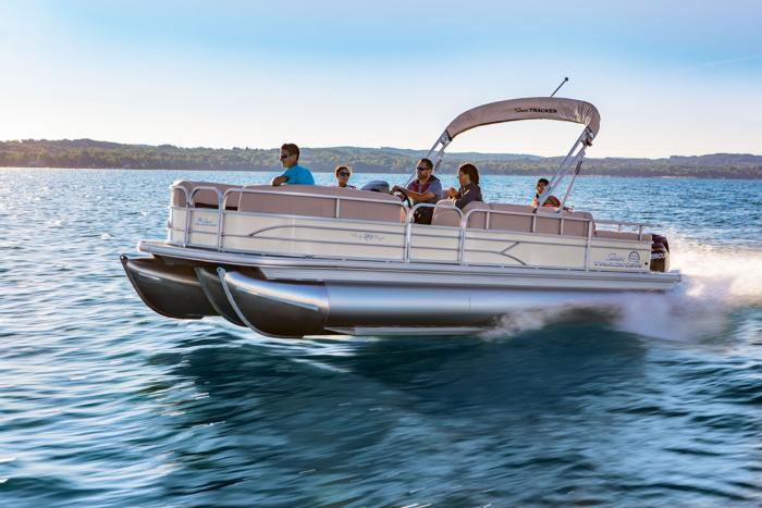 SUN TRACKER Boats : Recreational Pontoons : 2017 PARTY BARGE 24 XP3 ...