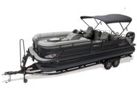 Color-keyed 11' (3.35 m) Bimini top w/LED lights, boot & power up & down feature