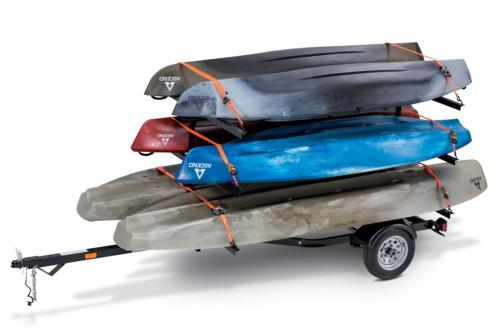 6-Carrier Kayak Trailer
