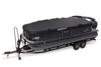 Standard Rail-Lock™ snapless & trailerable mooring cover w/detachable bow extension