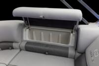 New Stow More™ seat storage system to stow additional gear