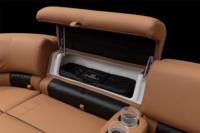 New Stow More™ seat storage system to stow additional gear. Shown w/optional REGENCY® soft cooler.