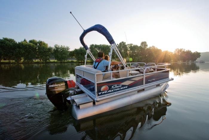 Sun Tracker Boats Fishing Pontoons 2019 Bass Buggy 16 Dlx