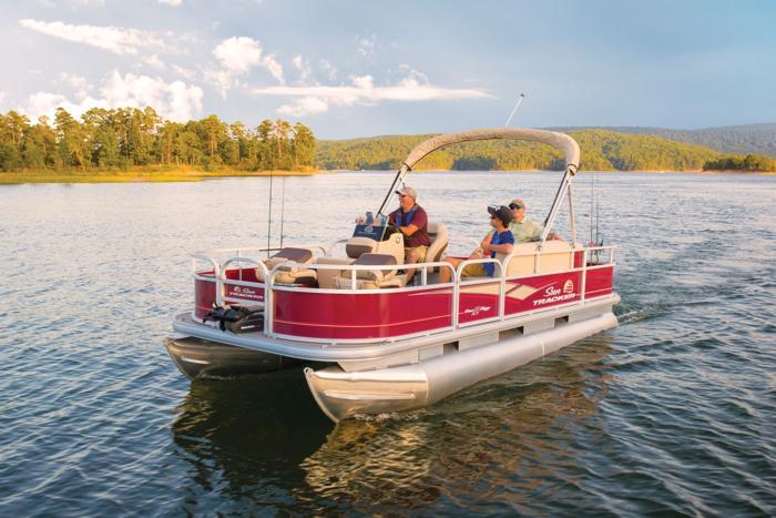 Sun Tracker Pontoon Boats >> Sun Tracker Boats Fishing Pontoons 2019 Bass Buggy 18