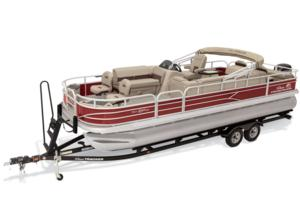 2019 SUN TRACKER FISHIN' BARGE 24 DLX