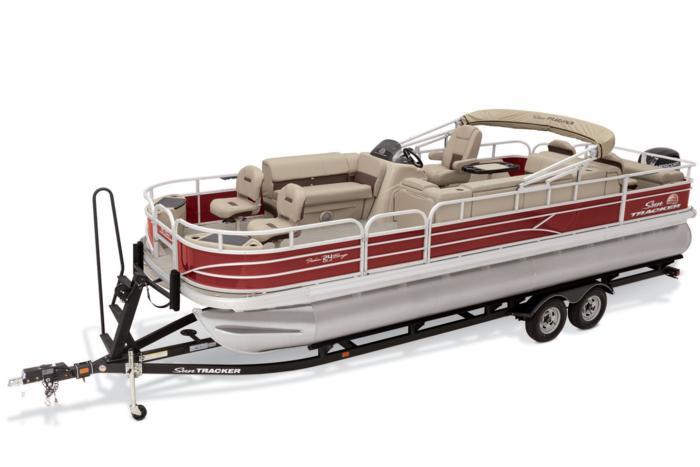 2019 FISHIN     - SUN TRACKER Boats : Fishing Pontoons