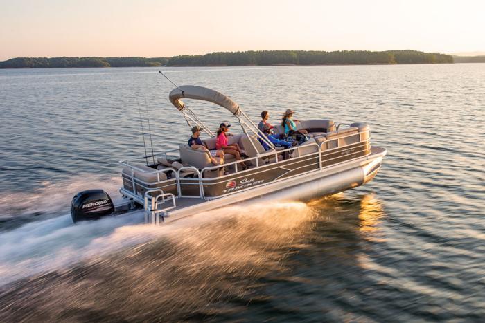 SUN TRACKER Boats : Fishing Pontoons : 2019 SPORTFISH 22 XP3