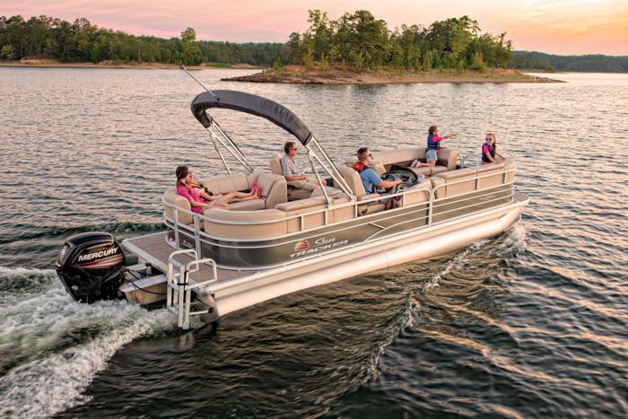 SUN TRACKER Boats : Recreational Pontoons : 2019 PARTY BARGE