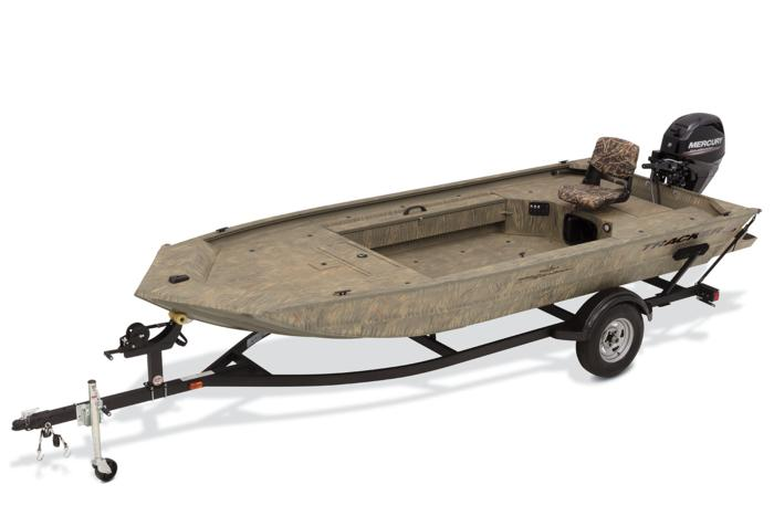 TRACKER Boats : All-Welded Jon Boats : 2019 GRIZZLY 1654 T ... on