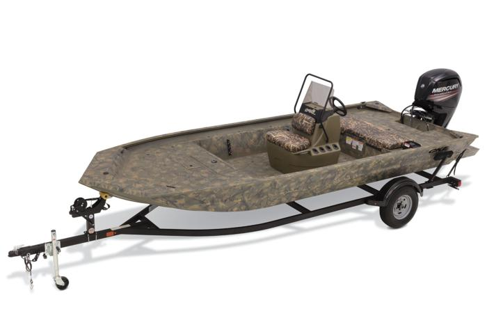 TRACKER Boats : All-Welded Jon Boats : 2019 GRIZZLY 1860 CC