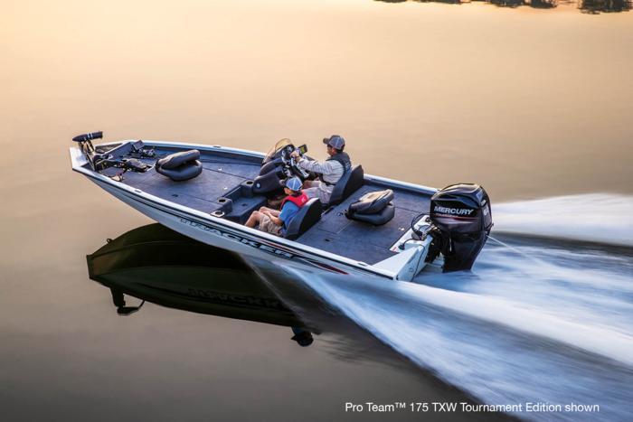 TRACKER Boats : Bass & Panfish Boats : 2019 PRO TEAM 175 TXW