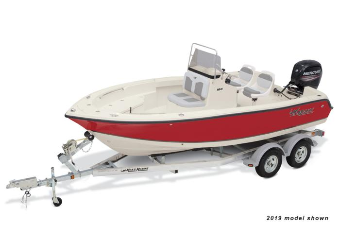 MAKO Boats : Offshore Boats : 2020 184 CC Features Options