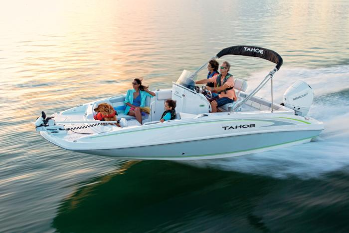TAHOE Boats : Deck Series : 2020 2150 CC Description