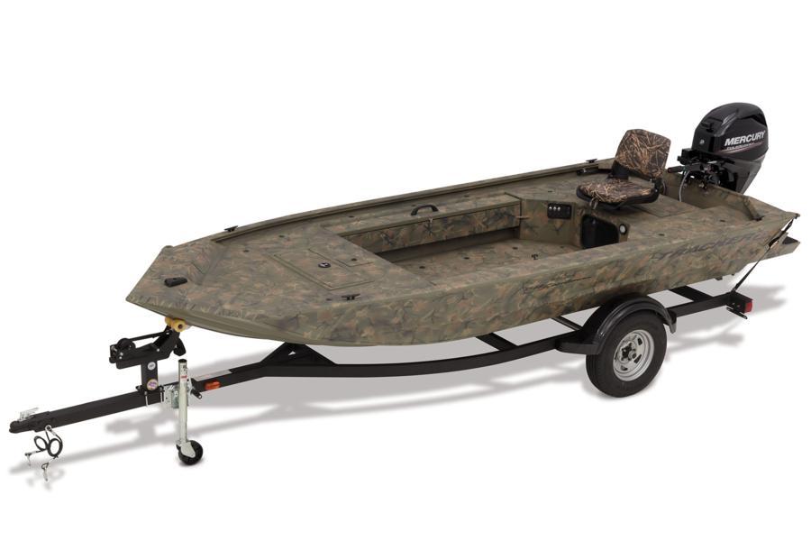 Tracker Boats All Welded Jon Boats 2020 Grizzly 1548 T
