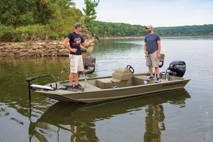 TRACKER Boats : All-Welded Jon Boats : 2020 GRIZZLY 1648 SC